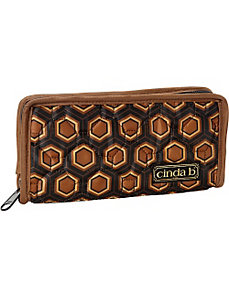 Continental Zip Wallet II by cinda b