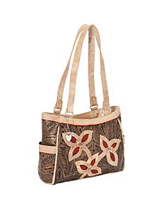 Sweet Blossoms 3 Compartment Tote by American West