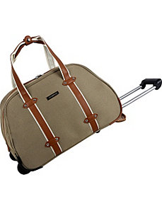 Vintage Edition Wheeled Duffle by Anne Klein Luggage