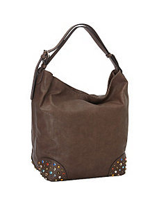 Roomy Large Hobo Shoulder Bag by SW Global
