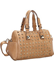 Stylish Stud Barrel Style Shoulder Bag by SW Global