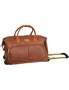 Nubuck Collection Rolling Duffle by Adrienne Vittadini