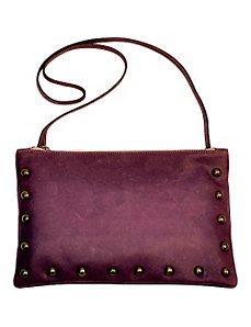 Nikki Leather Studded Pouch by Brynn Capella