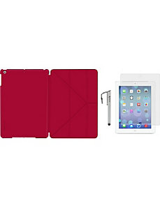 iPad Air Origami SlimShell Folio Case-3-in-1 Bundl by rooCASE