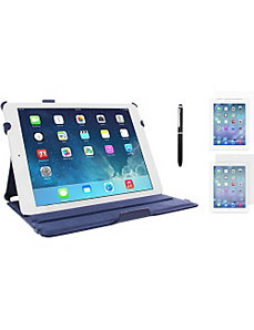 iPad Air Dual Station Folio Case-3-in-1 Bundle by rooCASE