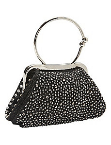 Studded Handheld Clutch by J. Furmani