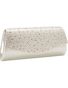 Studded Flap Clutch by J. Furmani