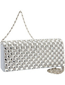 Stone Flap Clutch by J. Furmani