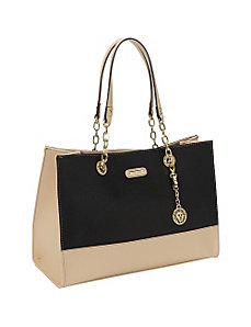In Full Bloom Large Tote by Anne Klein