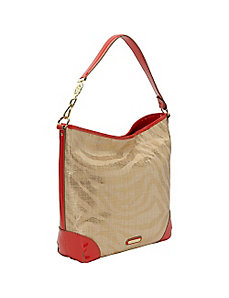 Sunshine Straw Hobo by Anne Klein