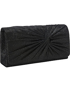 Glitter Knot Clutch by Magid
