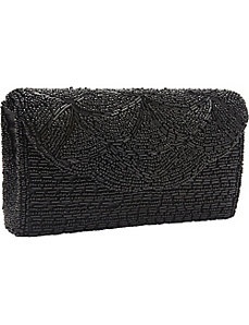 Beaded Body Vintage Style Clutch by Magid
