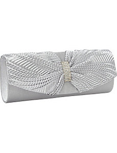 Twist Satin Clutch by Magid