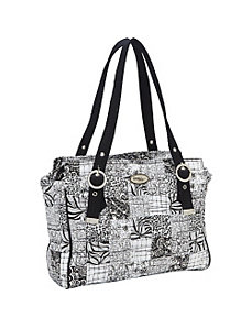 Layla Bag, Salt & Pepper by Donna Sharp