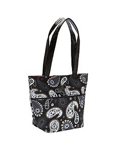 Large Tote, Black Pearl by Donna Sharp