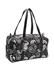 Duffle Bag, Black Pearl by Donna Sharp