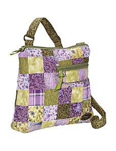 Becki Bag, Grape Patch by Donna Sharp