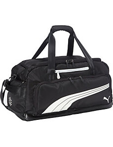 Form Stipe Duffel Bag by Puma