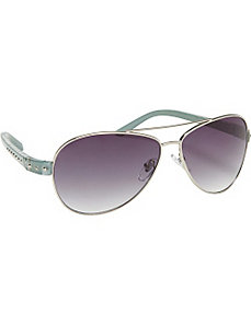 Rivet Aviator Fashion Sunglasses by SW Global