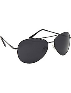 Urban Black Aviator Fashion Sunglasses in Black by SW Global