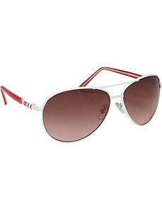 Piano Key Aviator Fashion Sunglasses by SW Global
