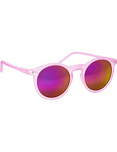 Iridescent Round Fashion Sunglasses by SW Global
