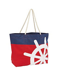 Canvas Wheel Tote by Magid