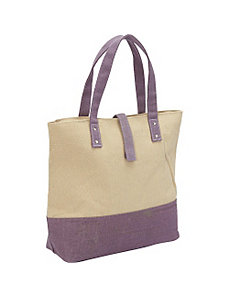 Color Block Canvas Tote by Magid