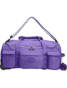 Discover Small Wheeled Luggage Duffle by Kipling