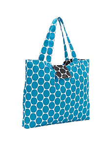 Malibu Dot Reversible Tote by Echo Design
