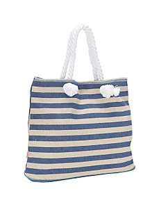 Striped Beach Tote by Echo Design
