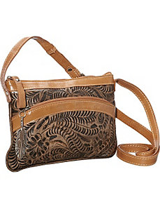 Feather Crossbody Pouch by American West