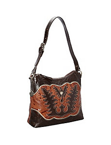 Eagle Heart Shoulder Bag by American West
