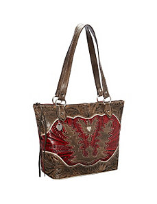 Eagle Heart Bucket Tote by American West