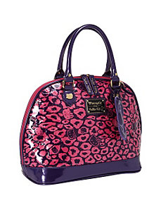 Hello Kitty Pink Leopard Embossed Bag by Loungefly