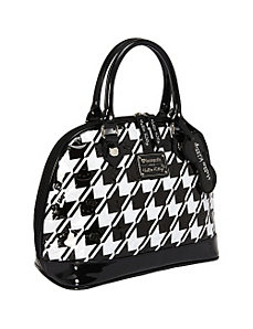 Hello Kitty Houndstooth Embossed Bag by Loungefly