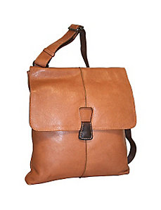 Half Flap Messenger Bag by Nino Bossi