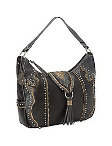 Topeka Collection Zip-Top Hobo by Bandana