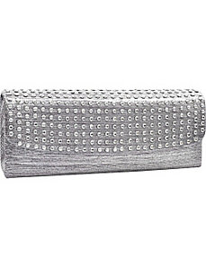 Dot Studded Evening Clutch by Dasein