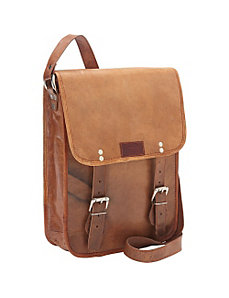 Cross Body Messenger Bag by Sharo Leather Bags
