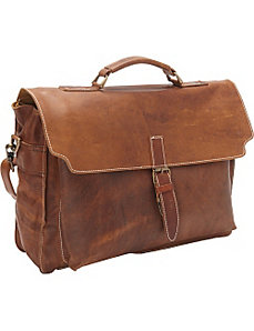 Soft Leather Brief by Sharo Leather Bags
