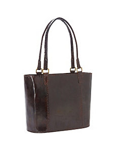 Women's Large Leather Rustic Tote by Sharo Leather Bags