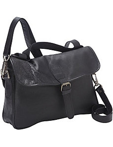 Cross Body Bag with Bike Straps by Sharo Leather Bags