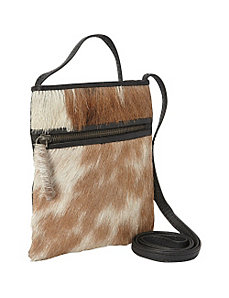Small Leather Pony Cross Body Bag by Sharo Leather Bags