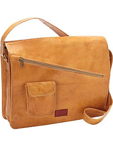 Computer Messenger Bag by Sharo Leather Bags