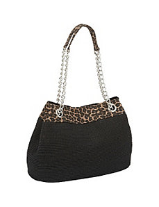 Animal Top Chain Tote by Magid