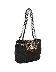 Animal Flap Shoulder Bag by Magid
