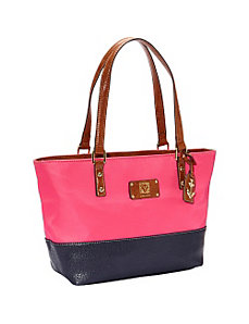 Petal Pushers II Medium Tote by Anne Klein