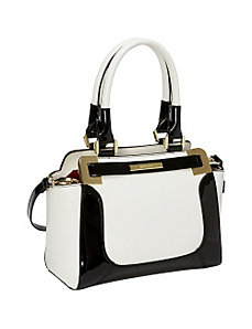 High Definition Medium Satchel by Anne Klein