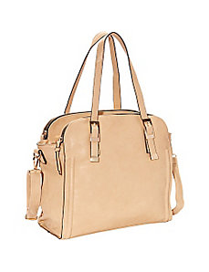Faye 3-Zipper Convertible Shopper by SW Global